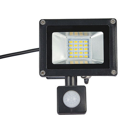 20W PIR Outside Sensor Light LED Flood Light Outdoor Garden Lamp 200V-240V Warm