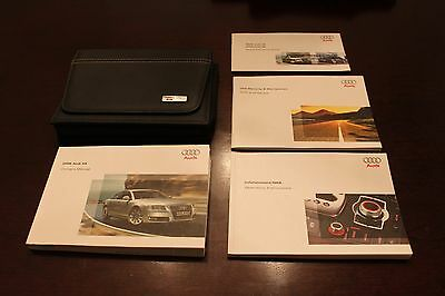 2008 Audi A8 Owners Manual Set With Navigation Manual