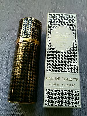 Vintage Miss Dior Christian Dior Refillable  Edt 100 Ml Empty  Bottle Very Rare