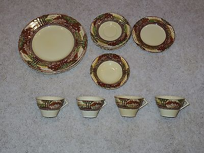 Myott Son & Co Hanley Lot 16 England's Countryside Plates Bowls Cups - Used/GC