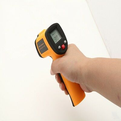New Non-Contact LCD IR Laser Sight Infrared Digital Temperature Thermometer Gun