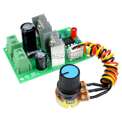 DC 12V-36V Pulse Width PWM DC Motor Speed Regulator Controller Control Switch 3A