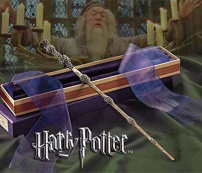 Collectable Film Replica Dumbledore Harry Potter School Wand Magic In Box Gift