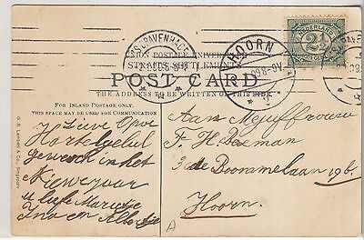 Singapore, 1905  Ppc To  Holland
