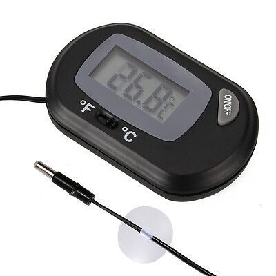 Thermomètre Digital écran LCD 2,5 x 1,2 cm pour Aquarium TH-003