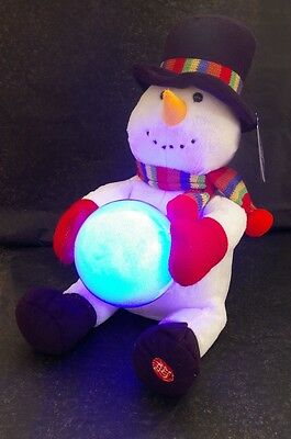 Frosty The Singing Snowman With LED Word Fan