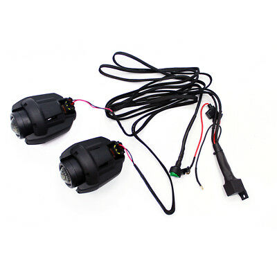 2 X Motorcycle Headlight Fog Safe Running Light Lamp For Bmw K1600