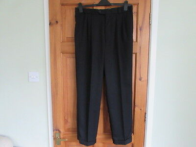 northern soul / 50s twin pleated turn up trousers W 34 X 29