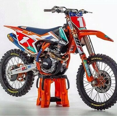 KTM Factory SXF250 SXF350 SXF450 Graphics Decals Factory Design Kit ALL YEARS