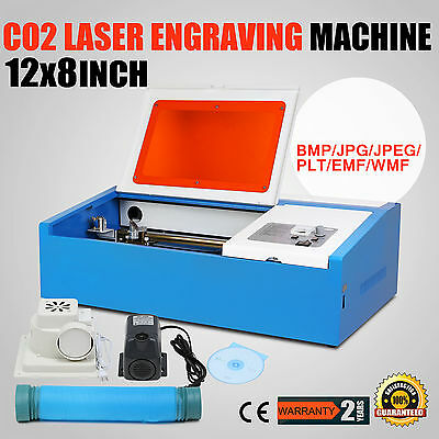 Co2 Laser Engraver Engraving Machine 40W High Precise Crafts Cutting Remarkable