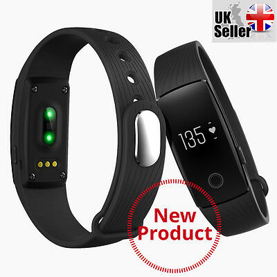 SMART WATCH Heart Monitor Pedometer Sports Fitness Tracker  Android iOS