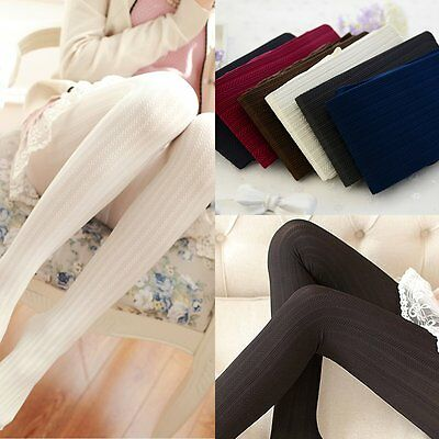 Classic Sexy Women 140D Opaque Footed Tights Pantyhose Thick Stockings Socks NEW