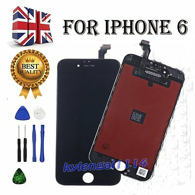 New iPhone 6 4.7'' Black LCD Replacement Screen Touch Digitizer Assembly UK