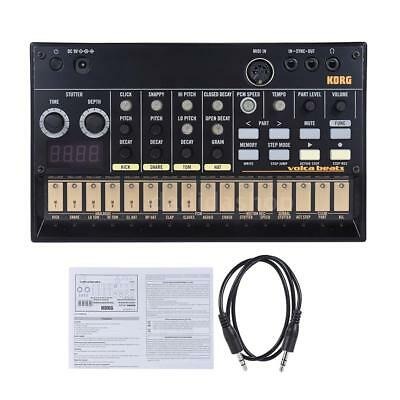 KORG VOLCA BEATS Analog Rhythm Machine Sequencer Synthesizer with MIDI H4X6