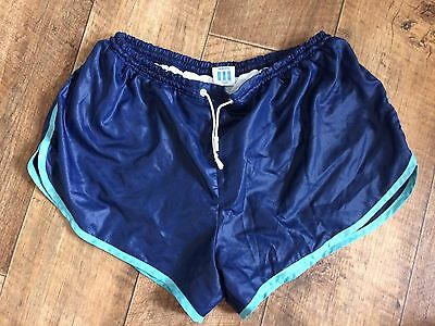 Vintage Adidas Sports Shorts 80s Sprint Retro West Germany Running Glanz W28