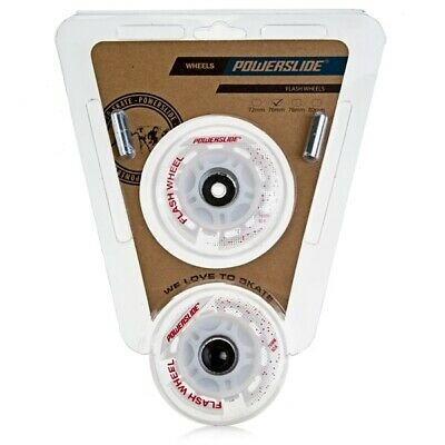 Powerslide Inline Wheels Flash Rollen 76mm/82A