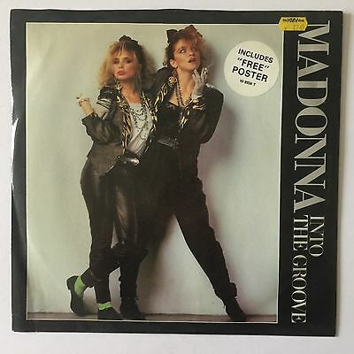 """Madonna - Into The Groove - 1985 - Sire - W 8934 - 12"""" Single"""