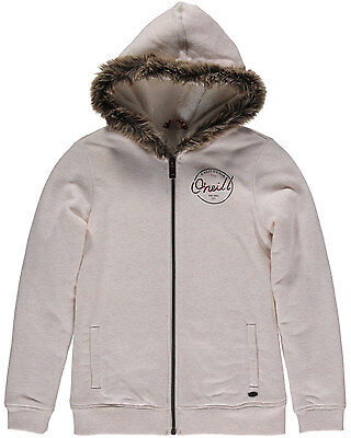 O'Neill San Fran  Girls Hoody in White - On Sale Now