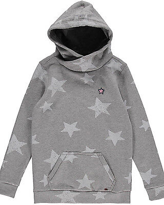 O'Neill Star  Girls Hoody in Grey & White - On Sale Now