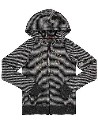 O'Neill Fantastic  Girls Hoody in Black & White - On Sale Now