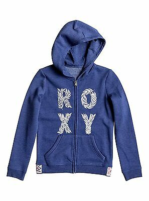 Roxy Sea Child  Girls Hoody in Blue - On Sale Now