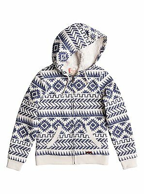 Roxy Star Crawl  Girls Hoody in Pristine - On Sale Now