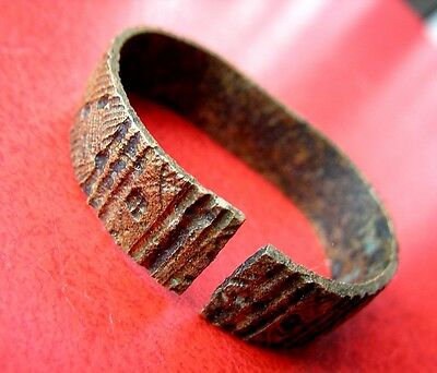 Ancient Viking Bronze Bracelet Children