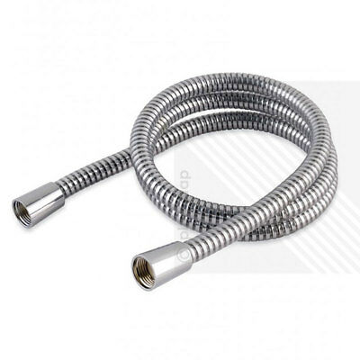Chrome PVC Shower Hose 2.00m Hi Flow Large Bore *Will replace all leading brands