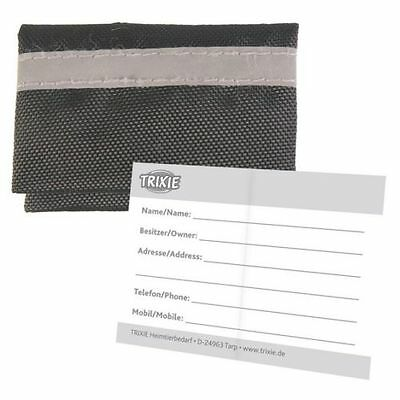 Address Label Bag Case Pouch for Dog Collar by Trixie