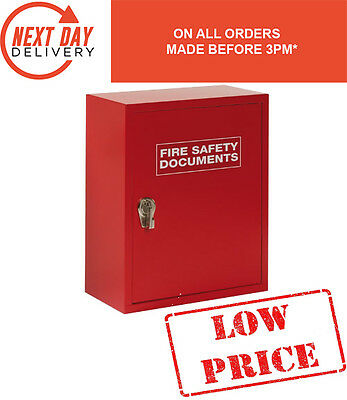Fire Safety Documents Box / Cabinet