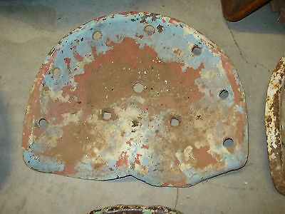 Rustic Old Metal Tractor Seat With Patina Vintage Antique