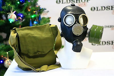 Russian USSR military Gas Mask GP-7 with filter WW bag NEW GENUINE authentic