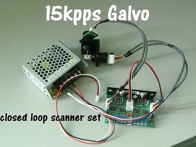 15Kpps optical galvo scanner without show card max 20Kpps to 30kpps
