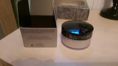 Laura Mercier Loose Setting Face Powder TRANSLUCENT Authentic, Full Size, Boxed