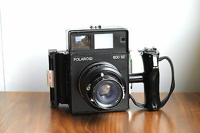 !!POLAROID 600SE Rangefinder Camera w/ Mamiya 127mm Lens * Good Used Condition *