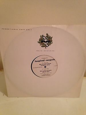 "Inspiral Carpets 12"" Promo This Is How It Feels"