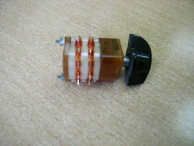 Hermetic Rotary Switch 3 pole 4 positions NOS Lot of 1