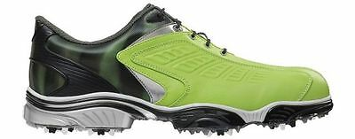 FootJoy FJ Sport Golf Shoes Mens Medium Width 2014 Model Lime/Black 53222K