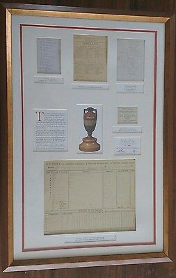 """Limited Edition Authentic """"The Birth of the Ashes"""" 1882 Framed Print"""