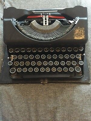 Vintage 1930's Imperial Good Companion Portable Typewriter without Case