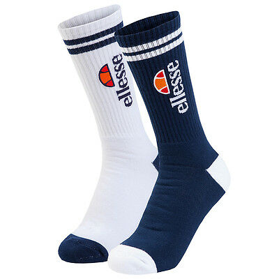 Ellesse Bazzini Mens Sports Fitness Training Socks (2 Pack)