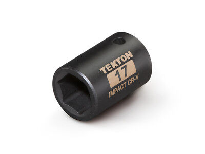 TEKTON 47772 - 1/2 in. Drive Shallow Impact Socket (6-Point) 17 mm