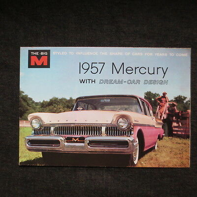 1957 Mercury fold out brochure Canadian market. nice.