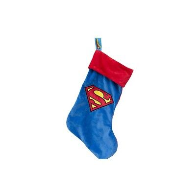 Superman - Classic Logo Christmas Stocking 19 inches long