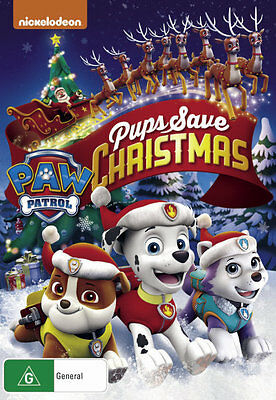 Paw Patrol: Pups Save Christmas  - DVD - NEW Region 4