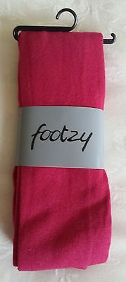 Footzy Cherry Pink Tights for Girls – Size:  4-5 yrs /110-116cms
