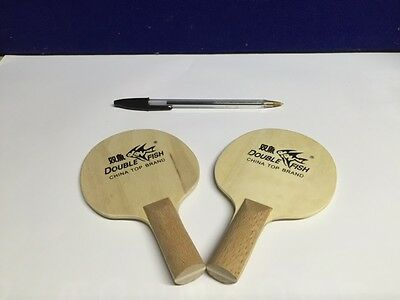 Double Fish Mini Table Tennis Blade X 2