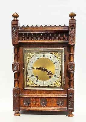 Winterhalder & Hofmeier Ting Tang Aesthetic Movement Bracket Clock