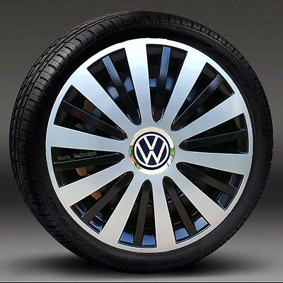 """14"""" wheel trims/Hub Caps/Covers to fit Vw UP  Quantity 4"""