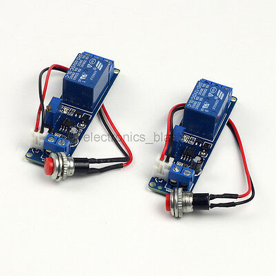 Relay Delay Module 5/12V Time Adjustable External Trigger Delay Switch